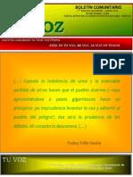 Tu Voz - Enero 2014