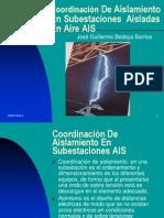 Coordinación de Aislamiento AIS