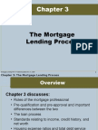 The Mortgage Lending Process