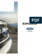 2015 Ford Explorer Brochure