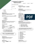 7º Examen Acumulativo 2º Periodo