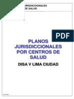 Jurisdicciones - Mapa de Los EESS y Distritos de La Red Lima