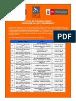 II Ciclo de Conversatorios 2014