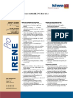 Release Notes IRENE Pro 4.3.1 en-NL