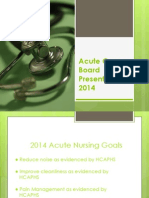 acute care board presentation 2014