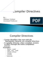 Compiler Directives