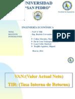 Vany Tir Ing. Economica