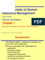 Fundamentals of HRM ch01