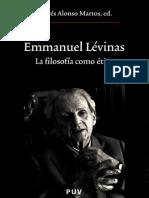 Lévinas Emmanuel La Filosofía Como Ética (1)