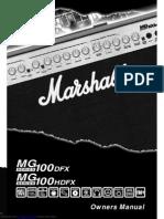 mg100dfx manuel