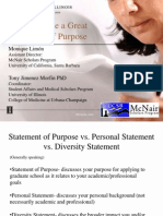 HowtoWriteaGreatStatementofPurposePowerPoint-April2010