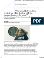 Alan Moore_ 'Why Shouldn't You Have a Bit of Fun While Dealing With the Deepest Issues of the Mind_' _ Books _ the Guardian