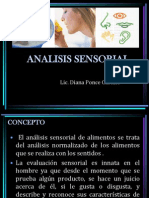Analisis Sensorial. 2014