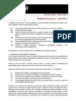 FSA - Informativo - MP651