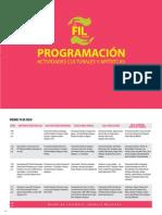Fil-lima Programacion Cultural 2014