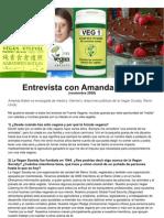 Entrevista con Amanda Baker ESPAÑOL