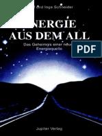115559408 Adolf Und Inge Schneider Energie Aus Dem All InhaltsVZ
