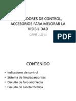 Indicadores de Control, Accesorios Para Mejorar La