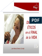 Dilemas Eticos en El Final de La Vida 2009