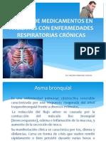 Manejo de Medicamentos en Pacientes Con Enfermedades Respiratorias