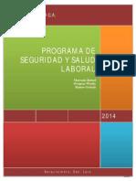 Programa de Seguridad y Salud Laboral Marao Aluminio CA