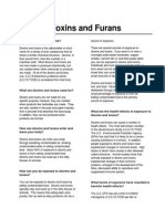 Dioxins and Furans Fact Sheet