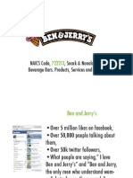Brand Users, Ben and Jerry's