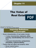 The Value of Real Estate