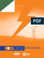 Balanco Energetico ES 2012 Ano Base 2011