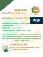 Afiche Red de Agroecología