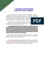 Tema 04. Enfoque Disposicional - El Estudio de Tipos y Rasgos