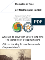 Contemporary Northampton in 2030