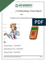 BRM Report MBA I Parag Saikat Pragya