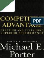 Competitive Advantage Porter