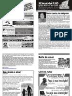 Semanário  Betesda 17 de maio de 2009