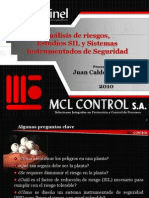 Analisis-De-Riesgos SIL-SIS Fiabuilidad de La Instrumentación y Sistema Intrumentado de Seguridad