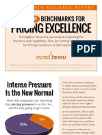 Pricing Excellence Benchmark Report e Book