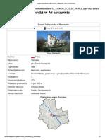Domek Holenderski w Warszawie – Wikipedia, Wolna Encyklopedia