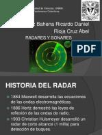 Radares y Sonares