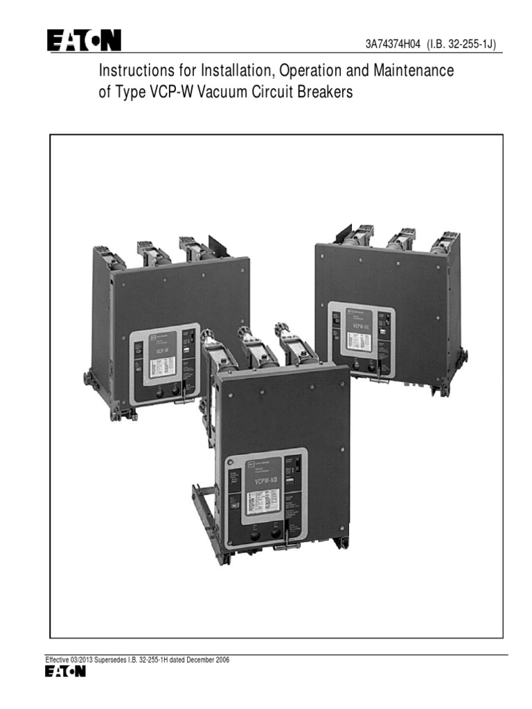 0322551 Switch Volt Operator For A Circuit On Wiring Diagram Of Vacuum Breaker