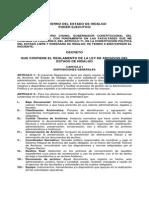 Reglamento de La Ley de Archivos Hgo