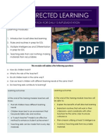 Self Directed Learning Training Module