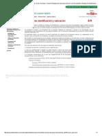 España. Junta de Andalucía. Estudios de Identificación y Valoración.