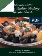 Classic Italian Cooking Web Book 2010