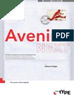 Avenir Next Brochure