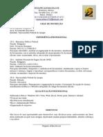 Curriculum Vitae- Atualizado- Regiane