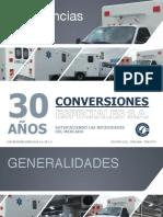 Ambulancia Tipo Uno