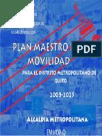 Muni Quito 2009 Plan Maestro Movilidad 2009-2025 Presentacion
