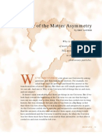 The Mystery of the Matter Asymmetry