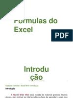 Fomulas Excel 2013